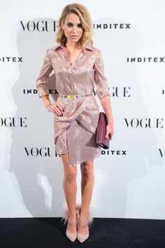 Ana Fernández wearing The 2nd Skin Co. dress from Warming Collection at Vogue Who's on Next