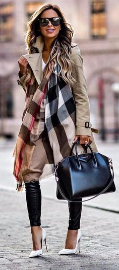 These Winter Outfits are must to have for every girl. These Outfits are currently followed by most fashion-forward ladies across the globe. Stylish Winter Outfits. #ladiesfashion,