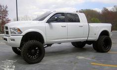 2012 Dodge Ram Dually 3500 Turbo Diesel - I'd kill for this truck Dodge Cummins, Dodge Dually, Dodge Ram Diesel, Dually Trucks, Dodge Trucks, New Trucks, Lifted Trucks, Cool Trucks, Pickup Trucks