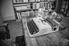 Indro Montanelli' s typewriter - Olivetti Lettera 22 #TuscanyAgriturismoGiratola
