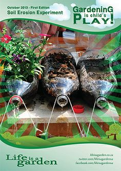erosion experiment how to and materials needed-- plants are important in holding our soil .or it will run off into the water Primary Science, Third Grade Science, Teaching Science, Science For Kids, Earth Science, Science Nature, Science Activities, Science Experiments, Science Ideas
