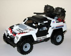 The Snow Leopard is a heavily modified V.A.M.P. designed for the harsh arctic environment. Description from joecustoms.com. I searched for this on bing.com/images