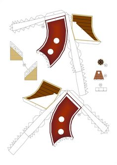 PaperToy - One Peace - Thousand Sunny Part 02 010