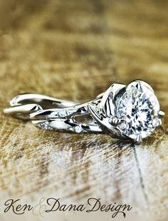 Engagement Ring called Daya by Ken & Dana Design