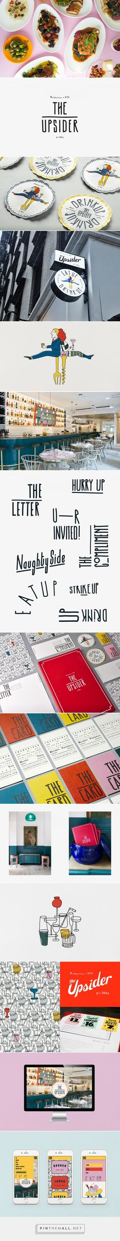 The Upsider NYC on Behance... - a grouped images picture - Pin Them All