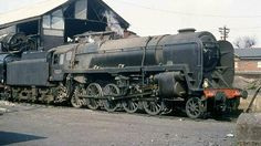 BR standard class 9F 2-10-0 Electric Locomotive, Diesel Locomotive, Steam Locomotive, Classic Cars British, Flying Scotsman, Rail Transport, Steam Railway, British Rail, Battle Of Britain