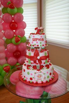 Great idea for my little Sophia's birthday. Wonder if I could make mine look like that.... NAH.
