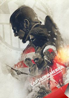 Marvel's Captain America: The Winter Soldier' Tribute Poster. by Laura Racero