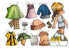 muñecas recortables, paper dolls, Бумажные куклы , bambole da carta, poupées en papier, 纸娃娃 ,: 1- MIS FAVORITAS Y COLECCION EVA