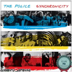 The Police : Synchronicity (1983) amzn.to/2eXJCxF #thepolice #synchronicity #album #rock