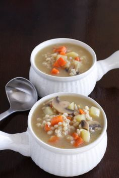 Polish Vegetable Barley Soup Recipe, Krupnik Polski -- Polish Food Blog | Polska Foods Pierogi
