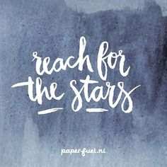 Reach for the stars and beyond.... especially tonight! Rain of falling stars…