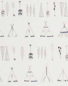 Native-behang-Ferm-Living