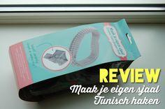 DIY Review - Sjaal tunisch haken (www.makenice.nl)