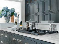 La cuisine grise, plutôt oui ou plutôt non? | House goals, Furniture ...