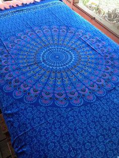 Boho Hippie Tapestry Fabric  Ancient by SticksandStonesHemp1