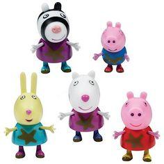 Peppa Pig 5 Figure Pack Muddy