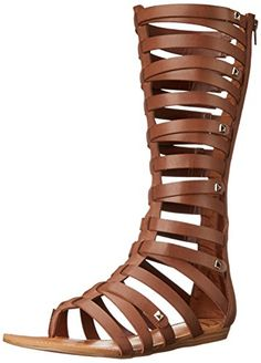 c4db40203e3 Fergalicious Womens Supreme Gladiator Sandal Brown 6 M US   You can get  more details by