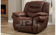 8001 Кресло с механизмом - реклайнер механическое image 1
