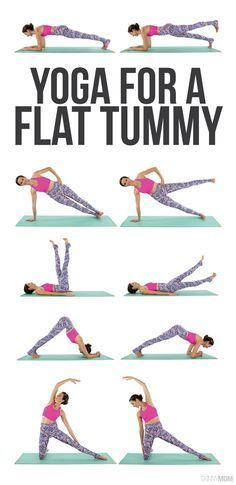 Go with the flow for a flat belly.