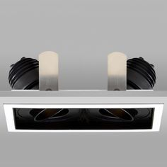 Square Double LED Downlight | John Cullen Lighting | LED Downlight