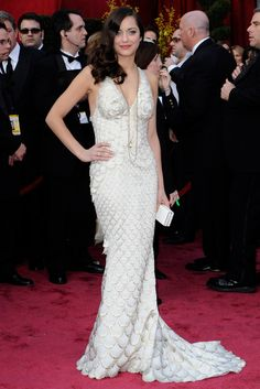 Marion Cotillard - most iconic red carpet dresses of all time