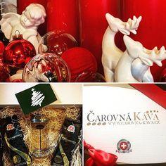 Vánoce za dveřmi už máte #dárek pro #vaše blízké?@carovnakava @cafebistronakusreci  @julkula  @bastioncollections Instagram