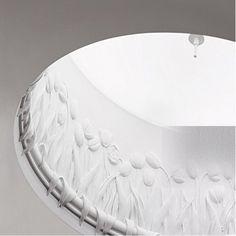 iCone Luce Tulipano i Plafondlamp wit