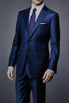 This Navy Sharkskin #Suit is a complete masterpiece for you.. #ChristmasSale
