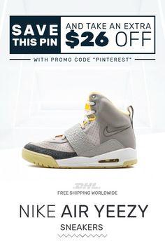 9e95ee9938e30 Order womens size Nike Air Yeezy Air Yeezy Zen Gray sneakers