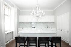 Sisustukset | TaloTalo | Rakentaminen | Remontointi | Sisustaminen | Suunnittelu | Saneeraus #sisustus #keittiö #decor #kitchen #white #talotalo