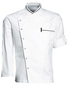 Bragard Chicago White Jacket Terry Cloth Lined Collar Hotel Uniform, Restaurant Uniforms, Staff Uniforms, Boys Shirts, Shirt Style, Chef Jackets, Fashion Outfits, Chef Coats, Garden Oasis