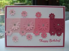 MaKing Papercrafts: Birthday Flowers