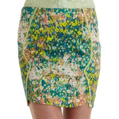 floral mini skirt from barney's Style Matters, Floral Mini Skirt, Pretty Shirts, Color Combos, Looks Great, Sequin Skirt, Floral Prints, Mini Skirts, Fancy