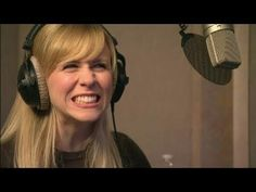 Ashley Eckstein voice acting for Ahsoka Tano in the Clone Wars