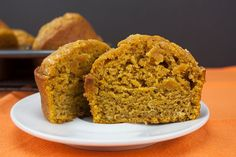 Easy, jumbo, gorgeously full of pumpkin flavor, moist and tender bakery style pumpkin muffins. Perfect for Fall baking season!