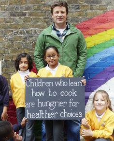 Jamie Oliver's Kitchen Garden Project