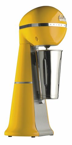 A-2001 Yellow Colour Drink Mixer with inox cup