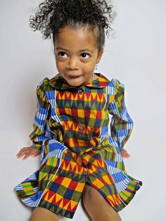 Kinder Kleid (Ekua) - Malaika-Designs - Kinderkleding