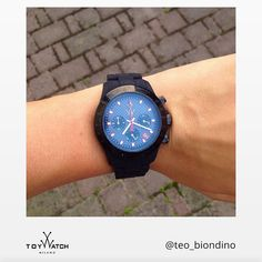 Wherever you're going, thanks for sharing your path with us, Teo! Use #ToyWatch on your photos to be featured on our #TWlove collection!