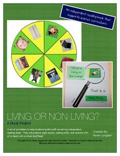 Living and Nonliving Things Book $3