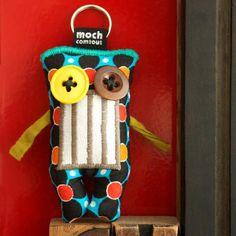 #monsters | Design from Paris | Flomoch' | Mode et accessoires | Porte-clef et accessoire : 19€