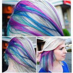 The Hidden Rainbow Roots Trend Is Mesmerizing