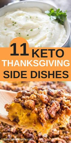 Crock pot and dairy free options. Check out these keto and low carb holiday side dishes that are perfect for Thanksgiving or Christmas. Stuffing, cauliflower mashed potatoes, and more. Keto Foods, Ketogenic Recipes, Low Carb Recipes, Healthy Recipes, Steak Recipes, Seafood Recipes, Easy Recipes, Stew Chicken Recipe, Easy Crockpot Chicken