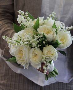 lily of the valley wedding bouquets images - Google Search