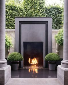 Outdoor Fireplaces to Keep You Warm All Year Long