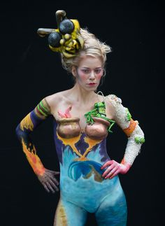 Austrian Body Paint Festival