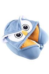 Owl Kigurumi Neck Pillow Hoodie Accessory Apparel