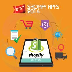 Best Shopify Apps 2016 - Shopify has made building, managing and maintaining online stores a lot easier, but there's always room for improvement. Here are the best Shopify Apps in 2016 to bring your store to a whole new level. #shopify #happycoding #codingeasy #toplanguages #mobileapps #shopifypicks #onlinestore
