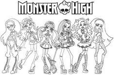 9 best monster high ausmalbilder images   monster high, coloring pages, coloring pages for kids